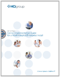 The HCI Group | Cerner Implementation Guide for a Multi-Hospital/Enterprise Install