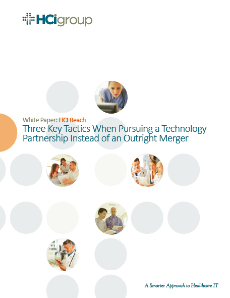 The HCI Group   Three Key Tactics When Pursuing a Technology Partnership Instead of an Outright Merger
